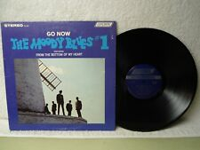 The Moody Blues LP Go Now #1 NM Near Mint 1965 Rock Debut Orig!
