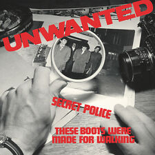 "The Unwanted - Secret Police/These Boots Were.. (limited blue vinyl 7"") *PUNK*"