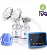 New listing Bellababy Double Electric Breast Feeding Pumps Pain Free Strong Suction Used