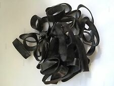 70 MIXED RANGER BANDS EPDM RUBBER -  SURVIVAL/STRAPPING/FIRE STARTER **USA**