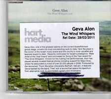 (FM908) Geva Alon, The Wind Whispers - 2009 DJ CD