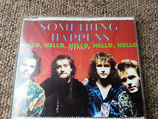 Something Happens - Hello, Hello, Hello (Petrol) - Three Track CD Single 1990