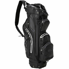 ECCO 2016 Cart Trolley Golf Bag Watertight - 14 Way Divider 9 Pockets Black