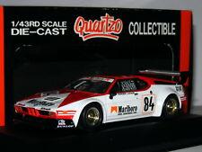 Quartzo 3040 BMW M1 1980 Le Mans #84 1/43