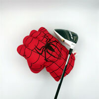 NEW Red Hand The Fist Golf Driver Headcover 460cc Spider Boxing Wood Cover