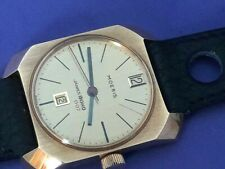 COLLECTIBLE NOS 1966 MOERIS JAMES BOND 007 MANUAL WIND WATCH - VERY RARE   #7135