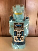 Vintage G1 Transformers Soundwave Unused BLUE Water Bottle, Unused Stickers