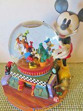 "Disney ""100 YEARS OF MAGIC"" CELEBRATION LG. SNOW GLOBE, MUSICAL, LIGHTS & MOTION"
