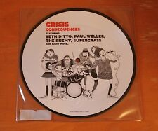 """CRISIS Consequences Feat. Beth Ditto, Paul Weller, Supergrass 7"""" Picture Disc"""