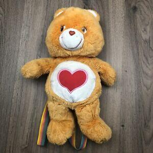 Care Bears Backpack 45cm Tall Tenderheart Bear Orange 2003