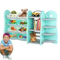 Natural//Primary FLR-AB412NW Basics Kids Toy Storage Organizer