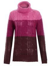 Damen-Pullover mit Polokragen in Größe 44