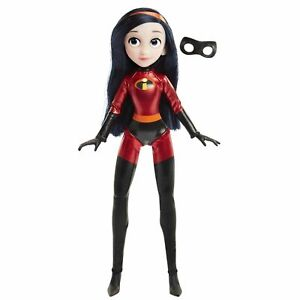 Disney Incredibles Articulated Violet Action Figure Costume with Removable Mask