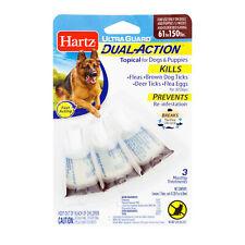 Hartz UltraGuard Topical FLEA & TICK PREVENTION DROPS Dogs Puppies 61-150lbs PET