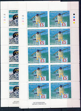 FALKLAND ISLANDS 2005 PENGUINS D9/18 POSTAGE DUES 10 SHEETLETS OF 10 STAMPS MNH