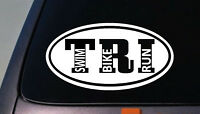 Triathalon Decal Sticker Running Decal Ironman Decal