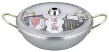 Japanese Stainless Steel Shabu shabu Nabe Hot Pot 26cm Made in JAPAN DR-4222
