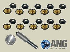 robust DOT Haube, Tonneau Abdeckung Druckknopf & Werkzeug-Set (schwarz) ; MG,