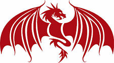 Dragon Wings Mythical Creature Car Truck Window Laptop Vinyl Decal Sticker