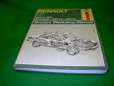 RENAULT 18 1979 - 1981 USED HAYNES WORKSHOP MANUAL