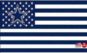 Cowboys FLAG 3X5 Dallas Banner American Football New Fast USA Shipping S