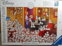 RAVENSBURGER Disney Collector's Edition 101 DALMATIONS 1000 Piece Puzzle ~ NEW!