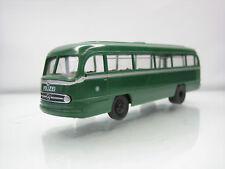Brekina Mercedes-Benz 0 321 Polizei Bus Green 1/87 Scale Good Condition