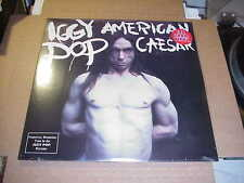 LP:  IGGY POP - American Caesar  NEW SEALED REISSUE 180gram 2xLP