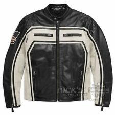 Orig. Harley-Davidson Herren-Motorrad-Lederjacke, Ce-Geprüft, 98124-17EM