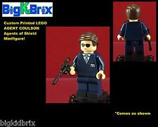 AGENT COULSON Xmen Custom Printed LEGO Minifigure Agents of Shield