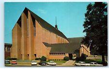 *The First Baptist Church Longview Texas TX Vintage Postcard B33