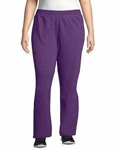 Just My Size Fleece Women Sweatpants Petite Length ComfortSoft EcoSmart sz 1x-5x