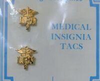 Set Lot 2 US MEDICAL PROFESSION LICENSED PRACTICAL NURSE (LPN) PIN BROOCH