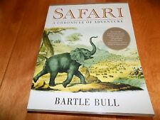 SAFARI A Chronicle of Adventure Big-Game Hunting African Hunter Africa LN Book