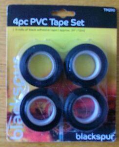 BLACKSPUR 4PCE PVC TAPE SET