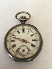 Watch 10 Rubies 1800s Cylindre Swiss Pocket