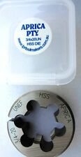 """UNS  3/4""""x 20 TPI  right hand 1.1/2"""" OD Button Die  HSS"""