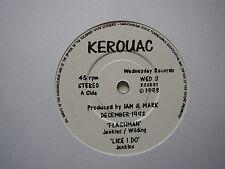 "KEROUAC: Flashman + 3 (Wednesday Records)  1993 7"" EP"