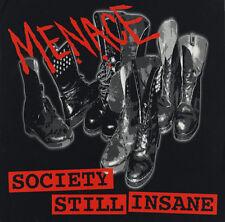 """MENACE - """"SOCIETY STILL INSANE"""" Vinyl"""
