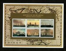 VINTAGE CLASSICS - Mali 1996 - Bateaux-Vapeur, Ships - Sheet of 6 Stamps - MNH
