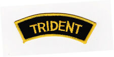 Trident Shoulder Embroidered Patch