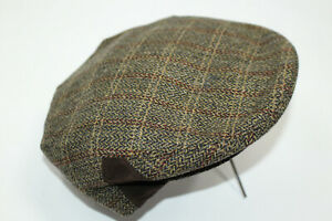 FLAT CAP JOHN G HARDY WOOL BLEND SIZE  (55) F16362