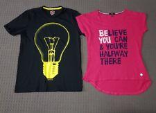 puma and katies spprts shirts size small and Medium