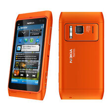 Original Unlocked Nokia Lumia N8 Wifi Orange GPS 3G 12MP Touchsreen Smartphone
