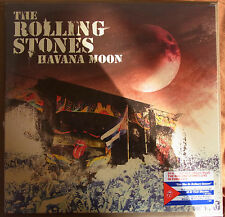 "THE ROLLING STONES ""Havana Moon"" 3 LP + DVD US LP sealed"