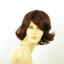 short wig for women dark brown copper ref edwige 31 PERUK