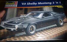 REVELL 1969 FORD MUSTANG GT-500 SHELBY 2n1 1/25 MODEL CAR MOUNTAIN KIT FS