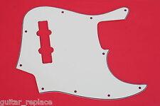 Golpeador Crema Jazz Bass 3 Capas Pickguard Cream Salvapuas