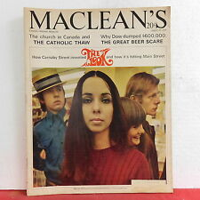 The Look Maclean's Magazine Mary Lou McPhee Catholic Thaw August 20 1966 RARE!