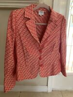 Pink Armani Collezioni Women's Blazer Size 10